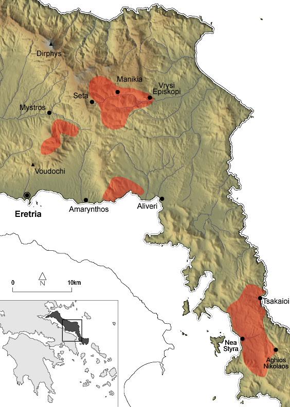 Main fires in Euboea (2007)