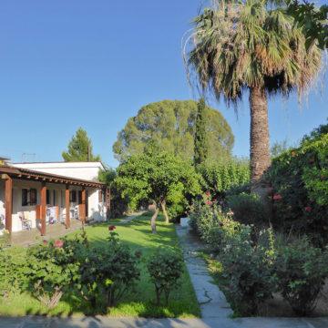 Jardin et annexe