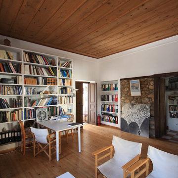 Bibliothèque et bureau