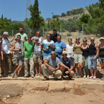 Gymnasium excavation 2015