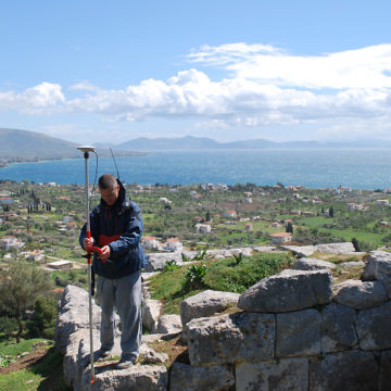 Acropolis surveying 2008