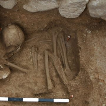 Bronze Age inhumation