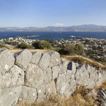 Fortification wall (4th c. BC)