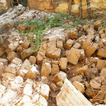 Apostoli str., ruins