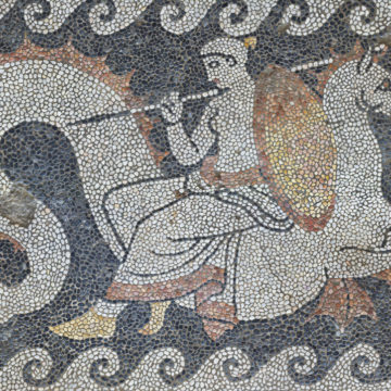 House of the Mosaics, main andron (4th c. BC)