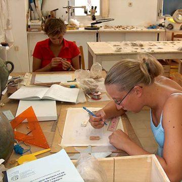 Eretria Museum study 2004