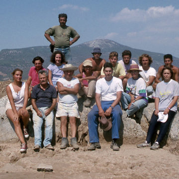 Eretria acropolis 1993
