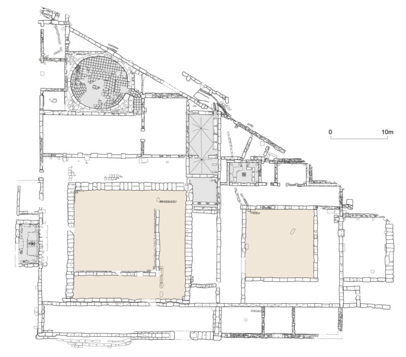 Plan of the Gymnasium of Eretria (2017)