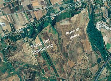 Satellite image (Regione Siciliana, Assessorato Territorio ed Ambiente)