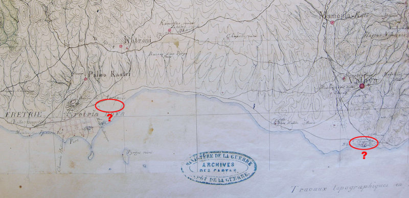 Morea expedition map (1852)