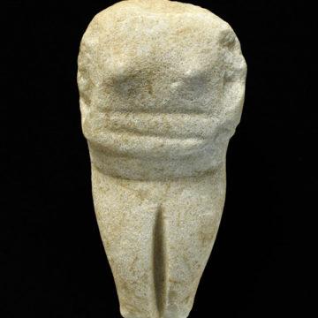 Kykladisches Idol (Eretria, 2500 v. Chr.)