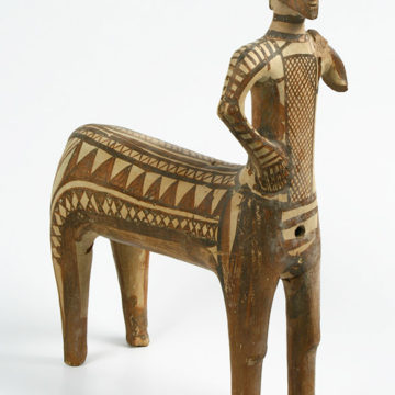 Terracotta figurine of a Centaur (Lefkandi, 9th. c. BC)