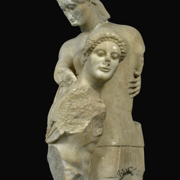 Theseus and Antiope (Eretria, late 6th c. BC)