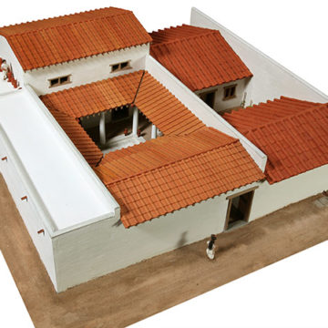 Model of the House of the Mosaics