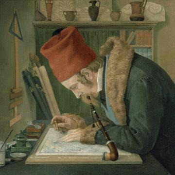 Eduard Schaubert (Carl Rahl, 1834)