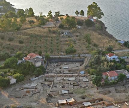 Sanctuary of Artemis at Amarynthos on Euboea