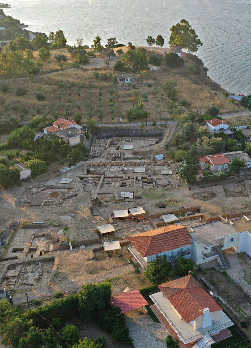 Sanctuary of Artemis at Amarynthos on Euboea