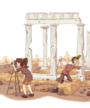 Le site Amarynthos est un outil de médiation qui permet aux enseignants et aux élèves de plonger dans l'actualité de l'archéologie grecque au contact des scientifiques.