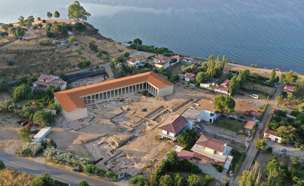 Le chantier du sanctuaire d'Artémis Amarysia à Amarynthos