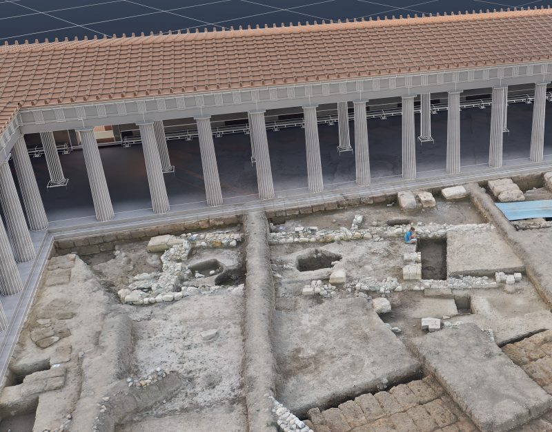 Amarynthos, 3D reconstruction